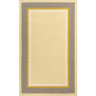 Surya Rain RAI1167-58 Hand Hooked Rug, 5' x 8' Rectangle