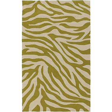 Surya Rain RAI1174-58 Hand Hooked Rug, 5' x 8' Rectangle