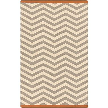 Surya Rain RAI1181-810 Hand Hooked Rug, 8' x 10' Rectangle
