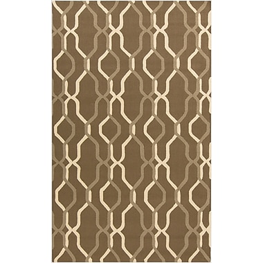 Surya Rain RAI1182-912 Hand Hooked Rug, 9' x 12' Rectangle