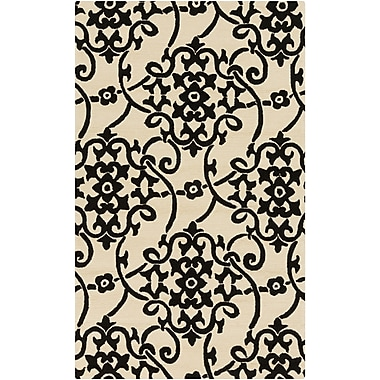 Surya Rain RAI1194-912 Hand Hooked Rug, 9' x 12' Rectangle