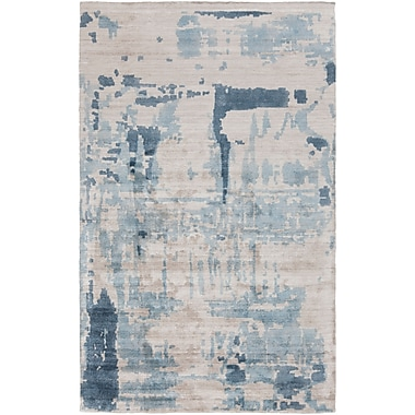 Surya Papilio Silence SIL7002-46 Hand Loomed Rug, 4' x 6' Rectangle