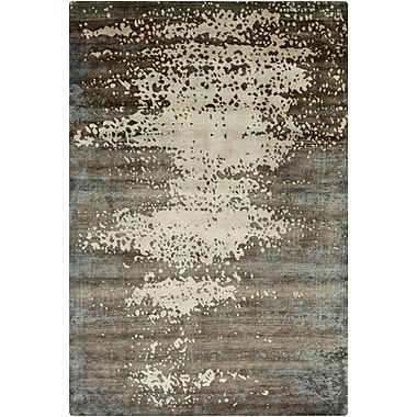 Surya Candice Olson Slice of Nature SLI6404-23 Hand Knotted Rug, 2' x 3' Rectangle