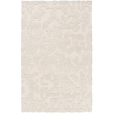 Surya Stencil STN1003-58 Hand Woven Rug, 5' x 8' Rectangle