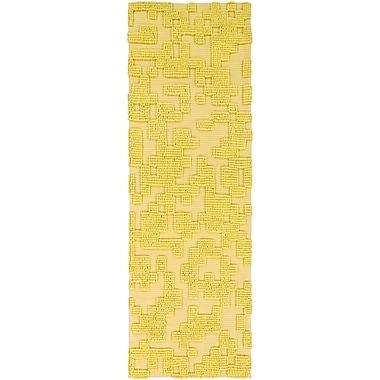 Surya Stencil STN1006-268 Hand Woven Rug, 2'6