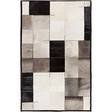 Surya Papilio Texas TEX8002-46 Hand Crafted Rug, 4' x 6' Rectangle