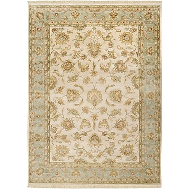 Surya Timeless TIM7913-811 Hand Knotted Rug, 8' x 11' Rectangle