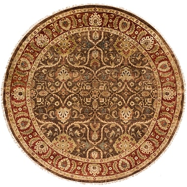 Surya Timeless TIM7920-8RD Hand Knotted Rug, 8' Round