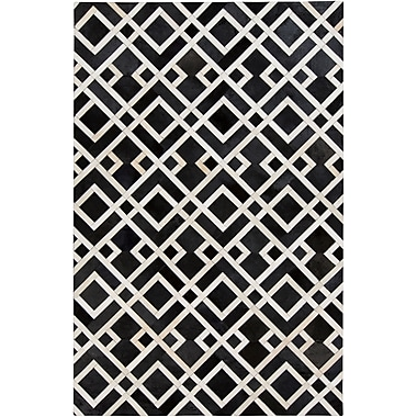Surya Trail TRL1130-23 Hand Crafted Rug, 2' x 3' Rectangle