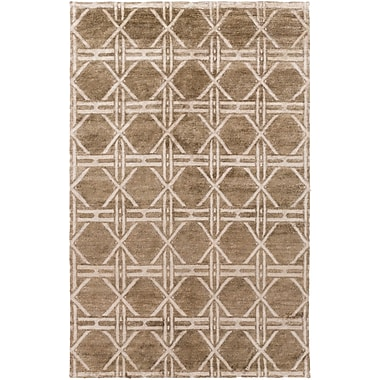 Surya Vanderbilt VAN1004-811 Hand Knotted Rug, 8' x 11' Rectangle