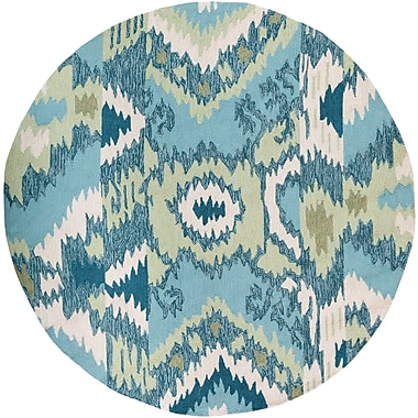 Surya Brentwood BNT7678-6RD Hand Hooked Rug, 6' Round