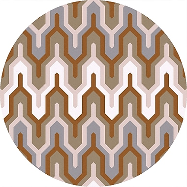 Surya Brentwood BNT7702-3RD Hand Hooked Rug, 3' Round