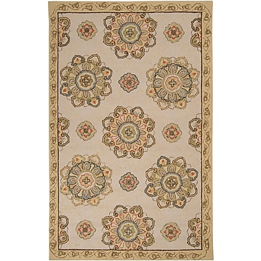Surya Rain RAI1072-23 Hand Hooked Rug, 2' x 3' Rectangle