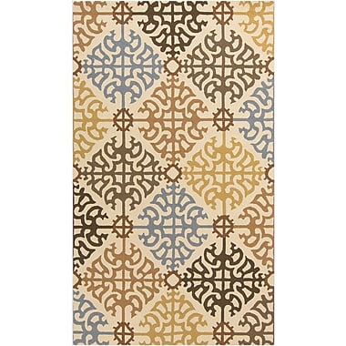 Surya Rain RAI1151-23 Hand Hooked Rug, 2' x 3' Rectangle