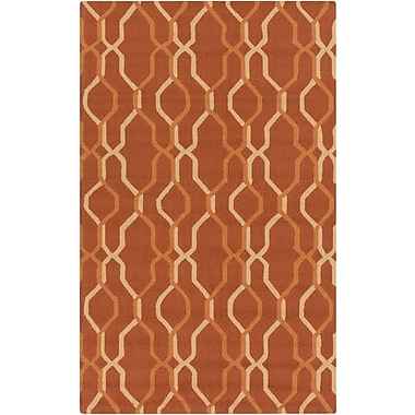 Surya Rain RAI1184-58 Hand Hooked Rug, 5' x 8' Rectangle
