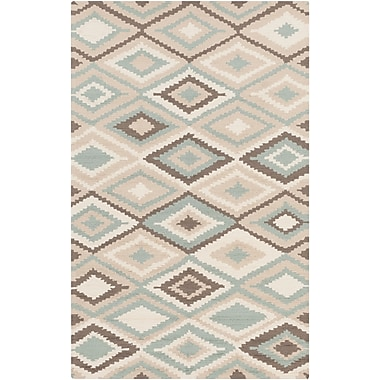 Surya Rain RAI1205-58 Hand Hooked Rug, 5' x 8' Rectangle