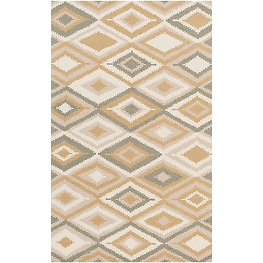 Surya Rain RAI1206-35 Hand Hooked Rug, 3' x 5' Rectangle