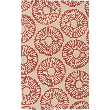 Surya Rain RAI1220-35 Hand Hooked Rug, 3' x 5' Rectangle
