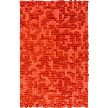Surya Stencil STN1002-58 Hand Woven Rug, 5' x 8' Rectangle