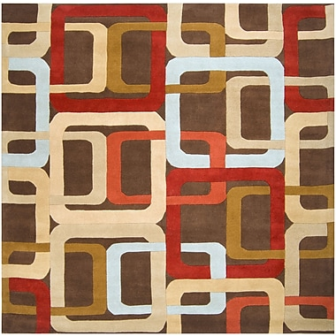 Surya Forum FM7106-8SQ Hand Tufted Rug, 8' Square
