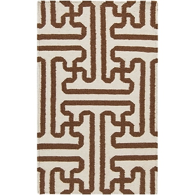 Surya Smithsonian Archive ACH1709-23 Hand Woven Rug, 2' x 3' Rectangle