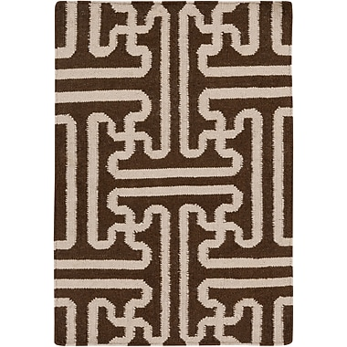Surya Smithsonian Archive ACH1710-23 Hand Woven Rug, 2' x 3' Rectangle