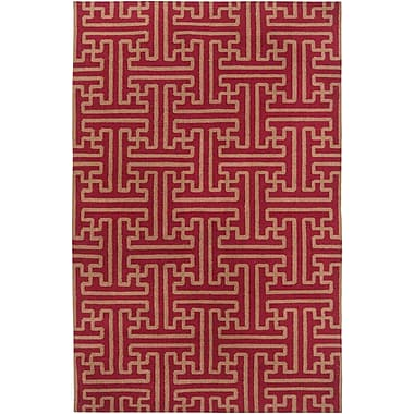 Surya Smithsonian Archive ACH1701-58 Hand Woven Rug, 5' x 8' Rectangle