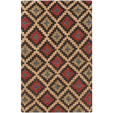 Surya Columbia CBA111-58 Hand Woven Rug, 5' x 8' Rectangle