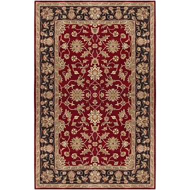Surya Crowne CRN6013-58 Hand Tufted Rug, 5' x 8' Rectangle