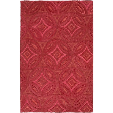 Surya Perspective PSV42-58 Hand Tufted Rug, 5' x 8' Rectangle