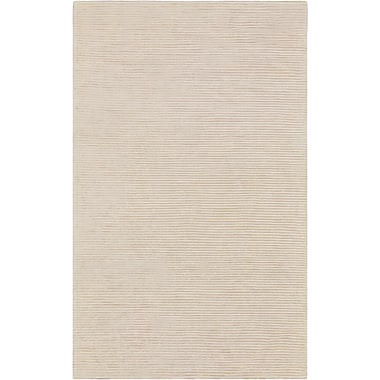 Surya Graphite GPH51-58 Hand Loomed Rug, 5' x 8' Rectangle