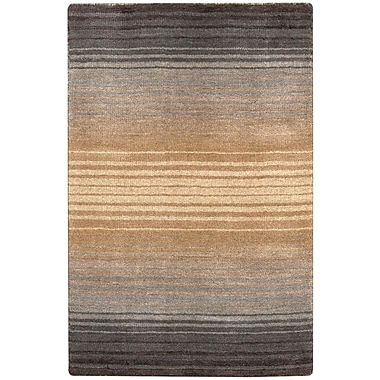 Surya Indus Valley IND95-811 Hand Loomed Rug, 8' x 11' Rectangle