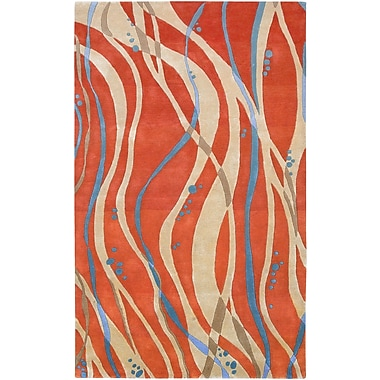 Surya Studio SR109-811 Hand Tufted Rug, 8' x 11' Rectangle