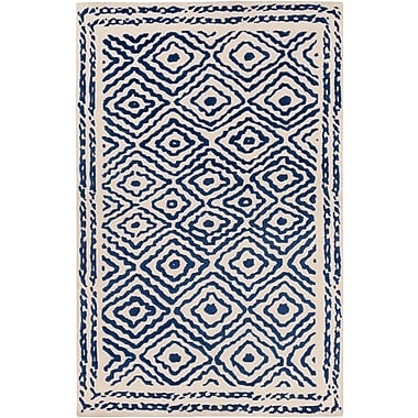 Surya Beth Lacefield Atlas ATS1002-58 Hand Knotted Rug, 5' x 8' Rectangle