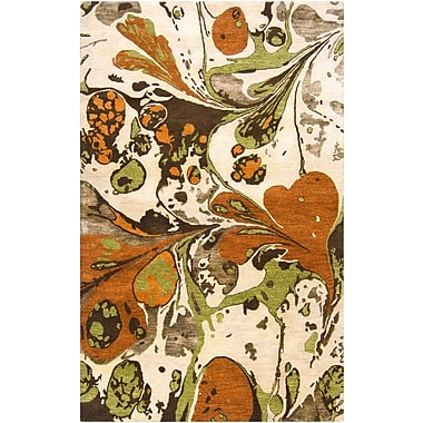 Surya Banshee BAN3314-58 Hand Tufted Rug, 5' x 8' Rectangle