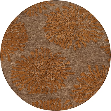 Surya Bombay BST495-8RD Hand Tufted Rug, 8' Round