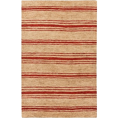 Surya Columbia CBA120-58 Hand Woven Rug, 5' x 8' Rectangle