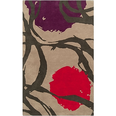 Surya Harlequin HQL8002-58 Hand Tufted Rug, 5' x 8' Rectangle