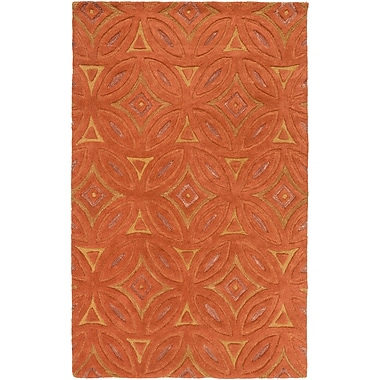 Surya Perspective PSV44-811 Hand Tufted Rug, 8' x 11' Rectangle