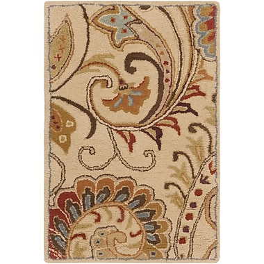 Surya Aurora AUR1008-23 Hand Tufted Rug, 2' x 3' Rectangle
