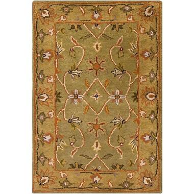 Surya Crowne CRN6001-23 Hand Tufted Rug, 2' x 3' Rectangle