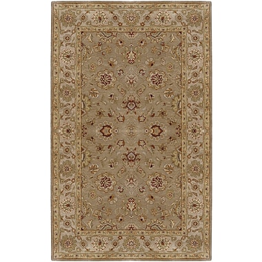 Surya Crowne CRN6010-58 Hand Tufted Rug, 5' x 8' Rectangle