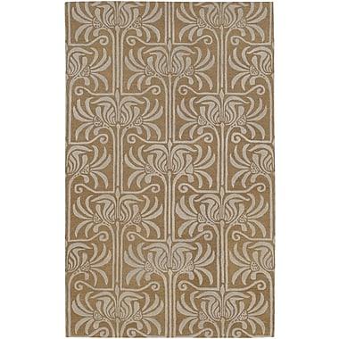 Surya Natura NAT7037-58 Hand Tufted Rug, 5' x 8' Rectangle