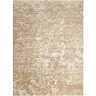 Surya Julie Cohn Shibui SH7412-46 Hand Knotted Rug, 4' x 6' Rectangle