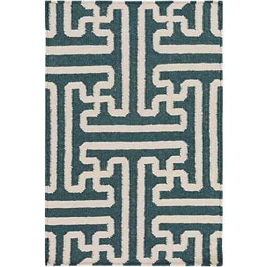Surya Smithsonian Archive ACH1708-23 Hand Woven Rug, 2' x 3' Rectangle