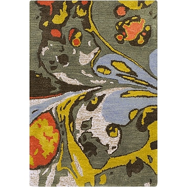 Surya Banshee BAN3310-23 Hand Tufted Rug, 2' x 3' Rectangle