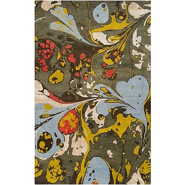 Surya Banshee BAN3310-58 Hand Tufted Rug, 5' x 8' Rectangle