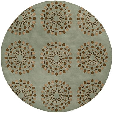 Surya Bombay BST428-8RD Hand Tufted Rug, 8' Round