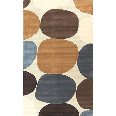 Surya Cosmopolitan COS9203-58 Hand Tufted Rug, 5' x 8' Rectangle