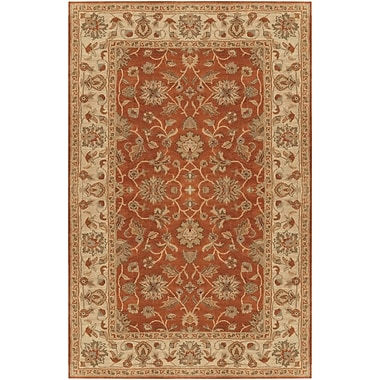 Surya Crowne CRN6002-58 Hand Tufted Rug, 5' x 8' Rectangle